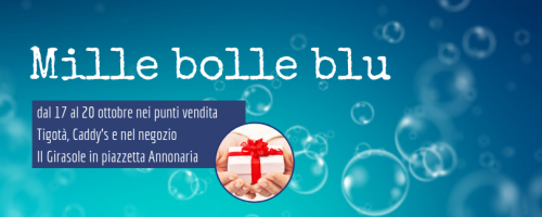 Regala mille bolle blu
