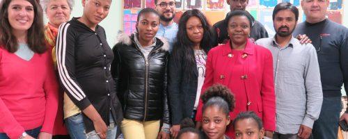 Una giornata in compagnia dell'onorevoleCécile Kyenge all'Associazione Arcisolidarietà